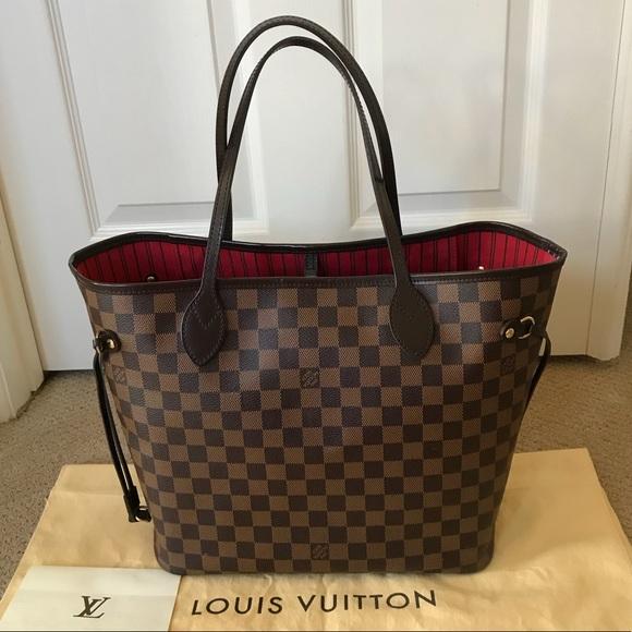 Louis Vuitton Handbags - Authentic LV Neverfull MM DE dc0ccaef8cacb